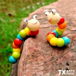 Juega con nuestro gusano articulado. 🥳Compra aquí: https://txhome.com.mx/juguetes/177-gusano-oruga-a-16.html