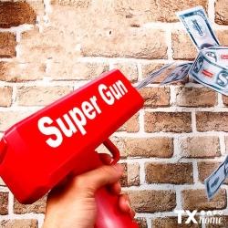 ¡Juega! 🤗Compra aquí: https://txhome.com.mx/juguetes/124-pistola-de-juguete-lluvia-de-billetes-.htmlEncuentra nuestro producto en la página web.