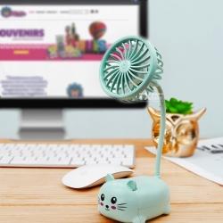 Los días con mucho calor necesitan un aire divertido, ¿Verdad? 🥳Checa nada más éste ventilador para el escritorio, ¡Es hermoso!. 💨😍Adquiere el tuyo en Col. Vista Hermosa 76750 Tequisquiapan o contactando al 414 231 4054 ❤