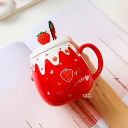 🍓¡Excelente jueves!🍓 Hoy estamos emocionados porque nos llegaron éstas hermosas tazas, ¡Wow!. 🍓🌟